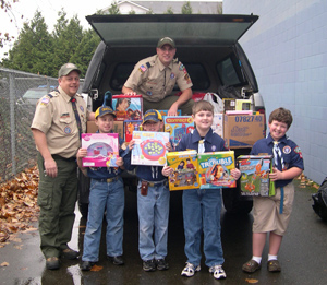 Boy Scout Donation